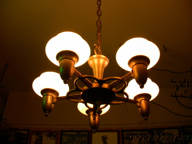Art Deco 5 Light Fixture
